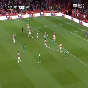 Arsenal 4-[1] Vorskla - Volodymyr Chesnakov 77'