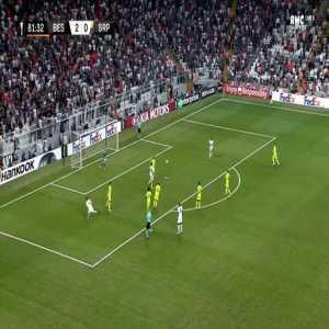 Besiktas 3-0 Sarpsborg 08 - Jeremain Lens 82'