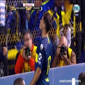 Boca Juniors [1]-0 Cruzeiro - Mauro Zarate (36') - Copa Libertadores Quarterfinal 1st leg