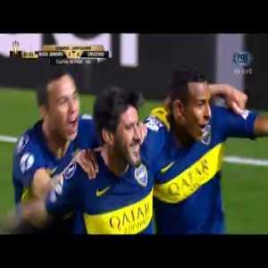 Boca Juniors [2]-0 Cruzeiro - Pablo Pérez (82') Copa Libertadores Quarterfinals 1st leg
