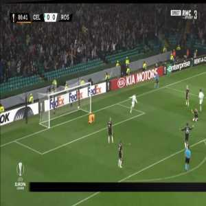 Celtic 1-0 Rosenborg - Leigh Griffiths 87'