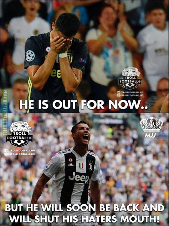Come Back Stronger, Cristiano Ronaldo!💪🔥