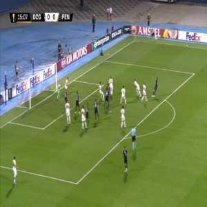 Dinamo Zagreb 1-0 Fenerbahce - Ivan Sunjic 16'