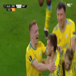 Dynamo Kiev 2-[2] FC Astana - Roman Murtazayev 90'+5'