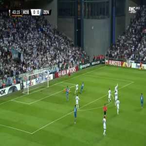 FC Copenhagen 0-1 Zenit - Robert Mak 44'