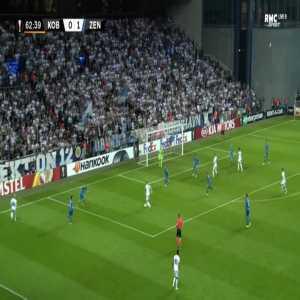 FC Copenhagen [1]-1 Zenit - Pieros Sotiriou 63'