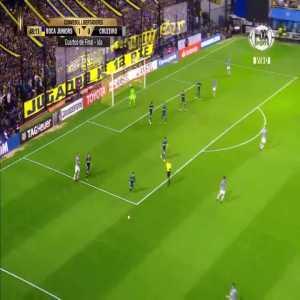 Incredible save from Wilmar Barrios in Boca vs Cruzeiro