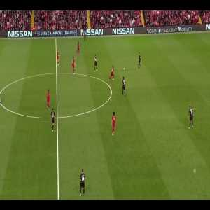 Jordan Henderson winning the ball back 3 times in under 30 seconds vs PSG