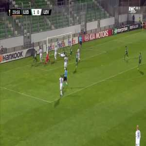 Ludogorets 2-0 Leverkusen - Marcelinho 30'