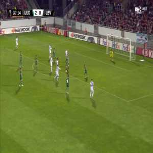 Ludogorets 2-[1] Leverkusen - Kai Havertz 38'