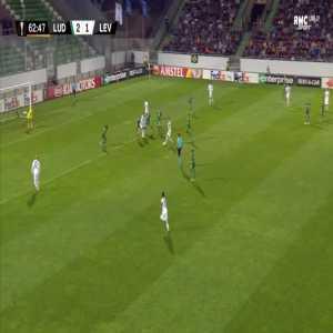 Ludogorets 2-[2] Leverkusen - Isaac Kiese Thelin 63'