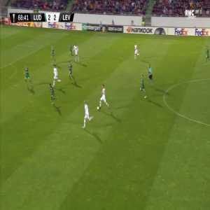Ludogorets 2-[3] Leverkusen - Kai Havertz 69'