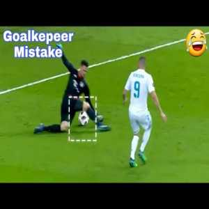 Most Stupid Goalkepeer mistake.