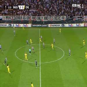 PAOK 0-1 Chelsea - Willian 7'