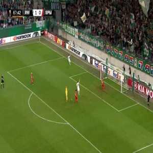 Rapid Wien 2-0 Spartak Moscow - Thomas Murg 68'