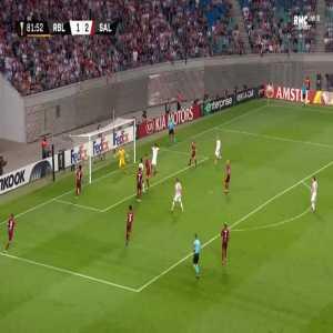 RB Leipzig [2]-2 RB Salzburg - Yussuf Poulsen 82'