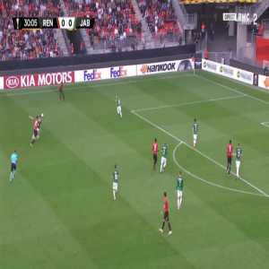 Rennes 1-0 Jablonec - Ismaila Sarr 31'