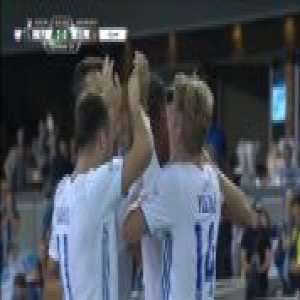 San Jose Earthquakes 2-0 Atlanta United - Danny Hoesen 43'