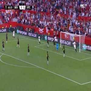 Sevilla [3]-1 Standard Liège - Wissam Ben Yedder 49'