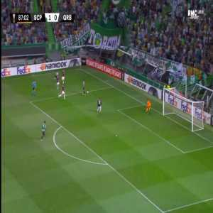 Sporting 2-0 Qarabag - Jovane Cabral 88'