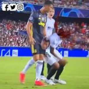 The TRUE reason why Cristiano Ronaldo was red carded (full