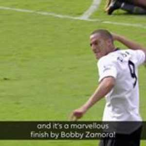 The turn, the finish 👊  Bobby Zamora's first for Fulham FC Official is GoalOfTheDay