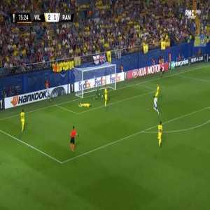 Villarreal 2-[2] Rangers - Kyle Lafferty 76'