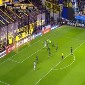 Wilmar Barrios goal line clearance against Cruzeiro