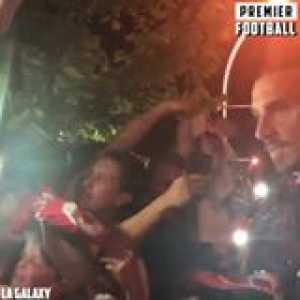 Zlatan signs where he wants... 🤣