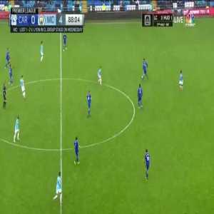 Cardiff City 0:[5] Manchester City - Riyad Mahrez second goal 89'