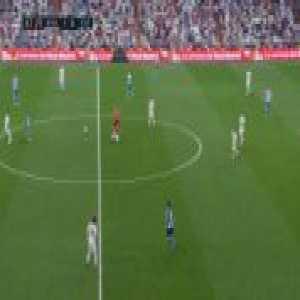 Casemiro tackles the referee