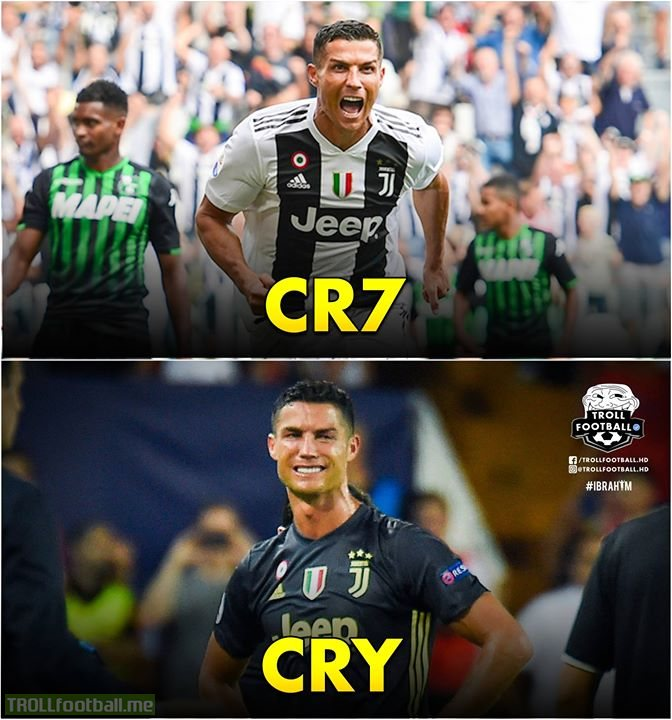 CRY > CR7
