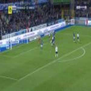 Strasbourg 0-1 Amiens - Emil Krafth 45'+2'