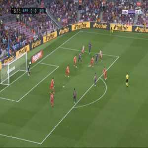 Barcelona 1-0 Girona - Lionel Messi 19'
