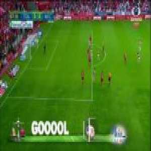 Matías Fernández Great Goal - Toluca 3-[2] Necaxa (Liga MX)