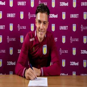 Jack Grealish signs a new five-year contract with Aston Villa