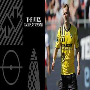 Lennart Thy wins the Fifa Fair Play Award 2018