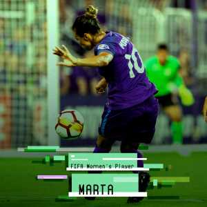[THE BEST] Marta elected female player of the year