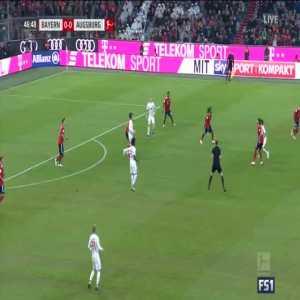 Bayern Munich 1-0 Augsburg - Robben 48'