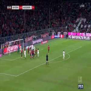 Bayern Munich 1-[1] Augsburg - Götze 86'