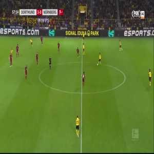 M. Reus goal (Dortmund [4]-0 Nürnberg) 57'