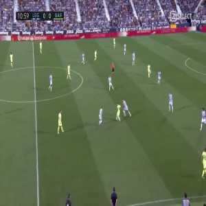 Philippe Coutinho great goal (Leganés 0-[1] Barcelona) 11'