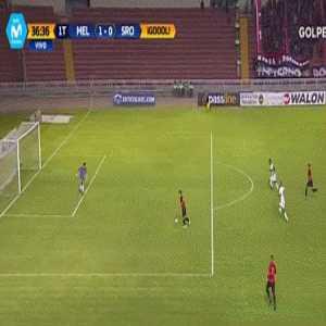 Great defensive blunder in the Peruvian League