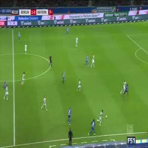 Duda 44' - Hertha Berlin 2-0 Bayern Munich