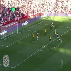 Arsenal [2]-0 Watford : Ozil 83'