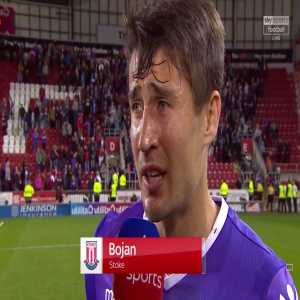 Bojan's equaliser against Rotherham was his first Stoke goal since December 2016, and his first goal for any club since scoring for Mainz against Bayern 18 months ago