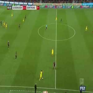 Leverkusen 2-[2] Dortmund - Reus 69'