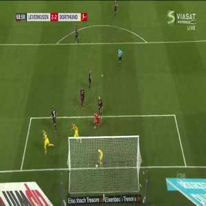 M. Reus goal (Leverkusen 2-[2] Dortmund) 69'