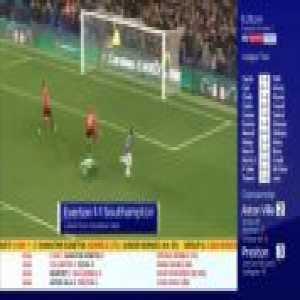Everton [1]-1 Southampton - Theo Walcott 85'