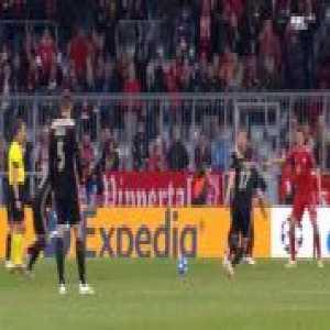 Neuer great freekick save vs Ajax